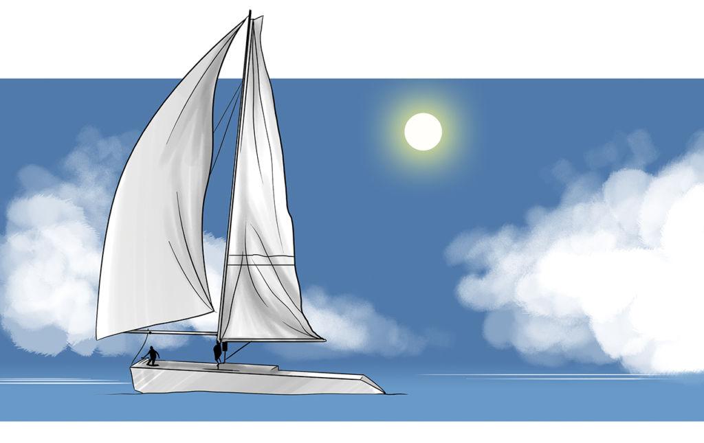 HOTetiquette, Veleo - sail
