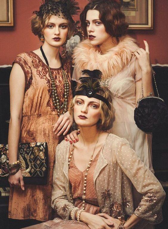 Evolución de la moda a través de los años - moda1920