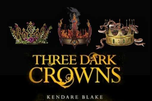 Nuestra recomendación de libros del mes, son todos escritos por mujeres - three dark crowns