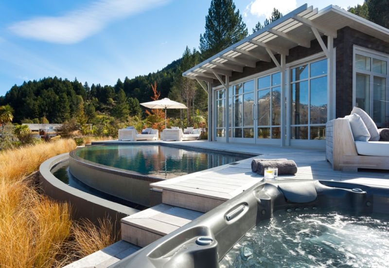 Matakauri Lodge - travel_hotel_spa_pool