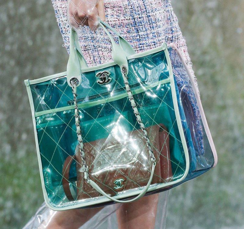 Las bolsas más cool para esta temporada - Transparente-
