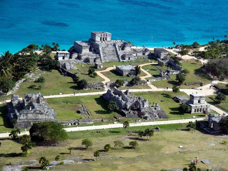 Destinos de México que debes conocer. - Tulúm-Quintana-Roo