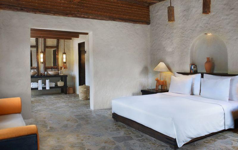 Six Senses Zighy Bay Resort. Lujo y relajación en el sureste de la península arábiga. - bedroom-1