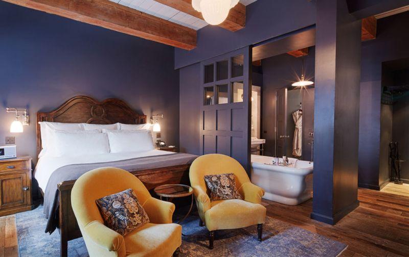 Nick Jones, Soho House - bedroom