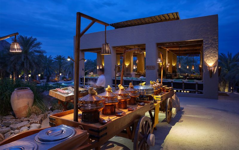 Six Senses Zighy Bay Resort. Lujo y relajación en el sureste de la península arábiga. - night