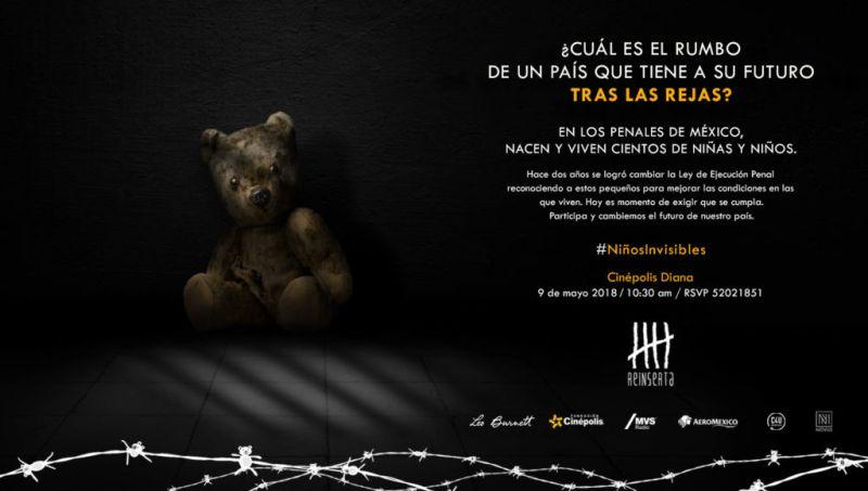 """""""Niños invisibles"""" de Reinserta, un movimiento por el futuro de México - users-astridjunco-desktop-invitacion-ninos-invi"""