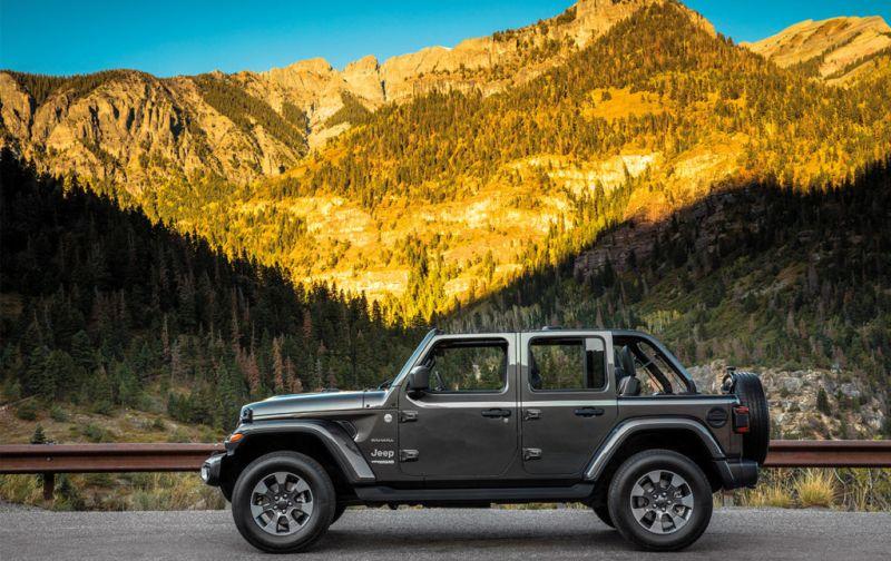 Jeep Wrangler: innovación y tecnología en un vehículo todo terreno. - JEEP-1