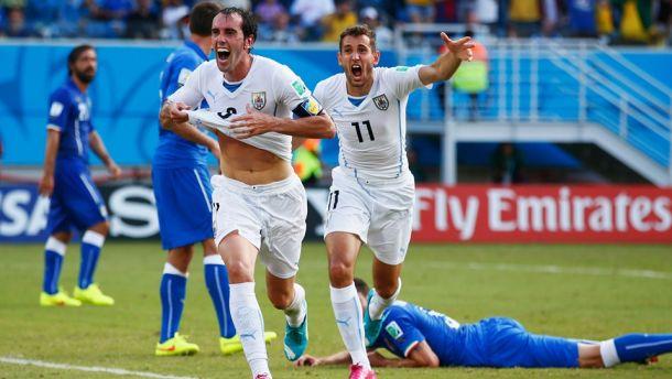 ¿Qué podemos esperar de los octavos de final en el Mundial de Rusia 2018? - diego-godin-de-uruguay-que-podemos-esperar-de-los-octavos-de-final-del-mundial-de-rusia-2018