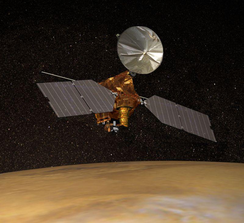 La NASA encuentra dunas azules en Marte - mars-reconnaissance-orbiter