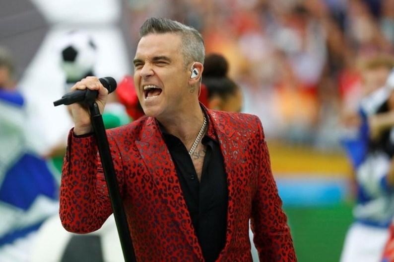Inauguración del Mundial Rusia 2018 - Robbie Williams. Inauguración del Mundial Rusia 2018