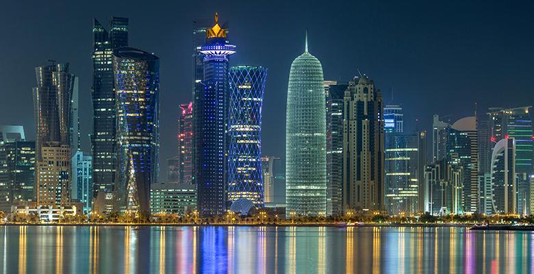 ¿Listos para el Mundial de Qatar 2022? - skyline-de-doha-qatar-listos-para-el-mundial-de-qatar-2022_