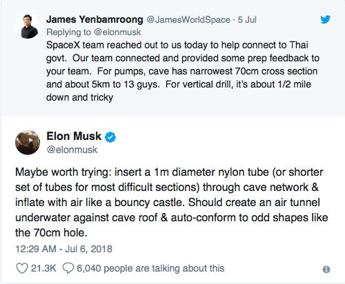 Elon Musk y su invento para salvar a los niños de Tailandia - twitter-de-elon-musk-y-el-submarino-elon-musk-y-su-invento-para-salvar-a-los-nincc83os-de-tailandia