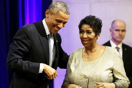 10 cosas que no sabías sobre Aretha Franklin - arethafranklin_presidentes