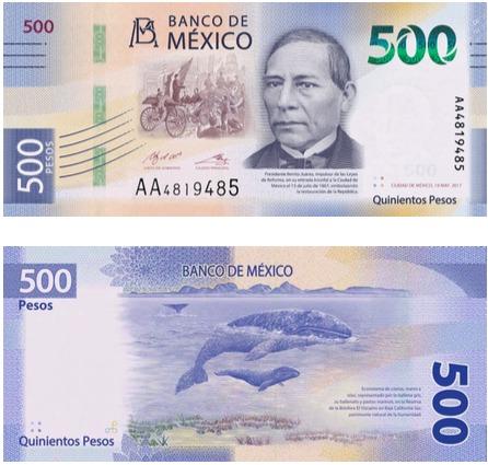 Benito Juárez aparecerá en los nuevos billetes de 500 pesos en México - Benito Juarez aparecerá en los nuevos billetes de 500 pesos en México
