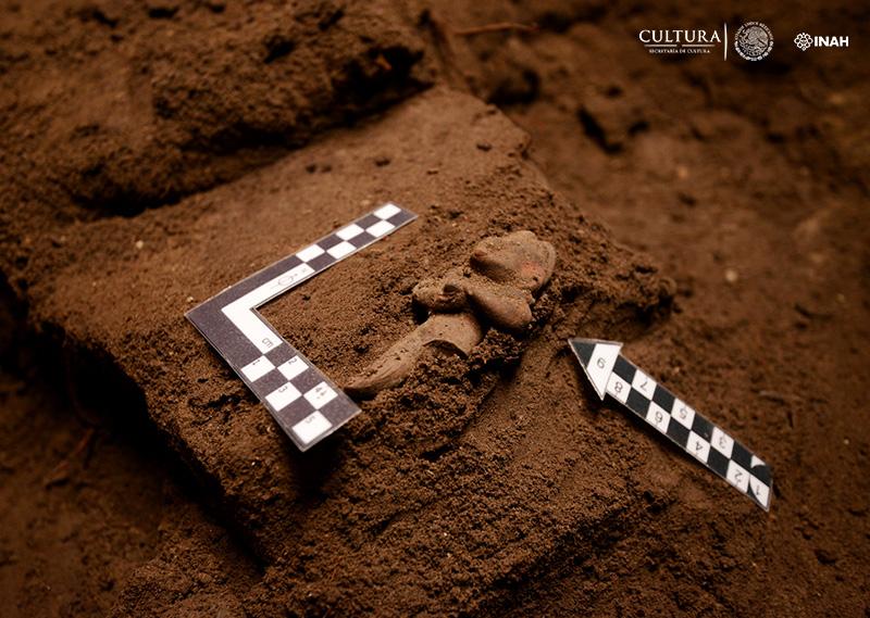 Descubren 26 fosas prehispánicas con 2700 años de antigüedad en la CDMX - inah-descubre-fosas-26-prehispanicas-en-la-cdmx