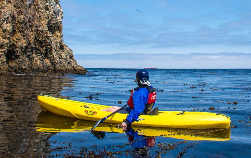 California Roadtrip, un viaje de naturaleza extrema. - kayak-channel-islands
