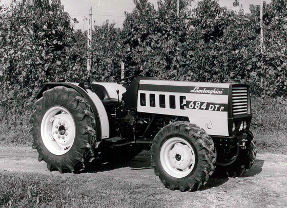 Lamborghini comenzó fabricando tractores - lamborghini-2