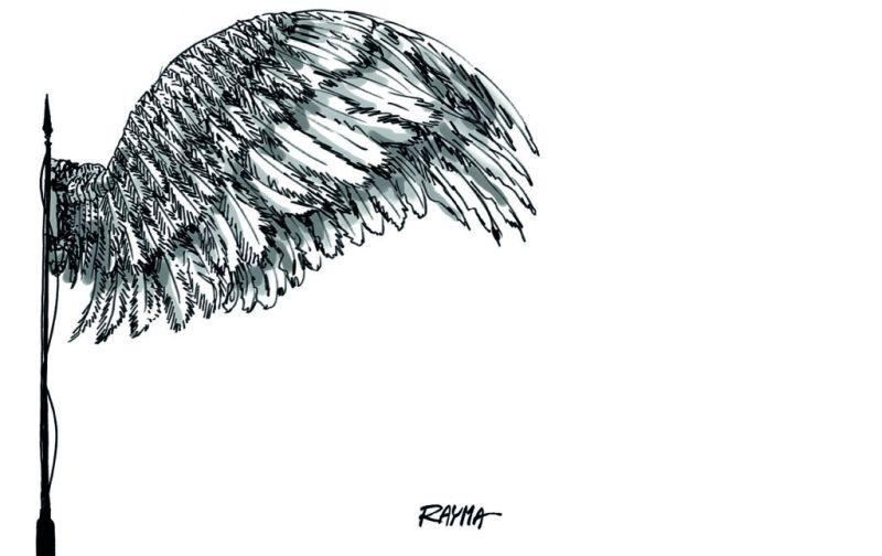 Línea de fuego - linea-de-fuego-caricatura-por-rayma