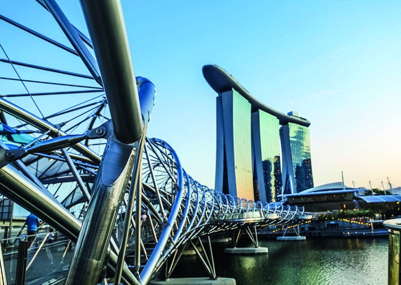 Singapur: un destino único en Asia - marianamanina-marina-bay-2