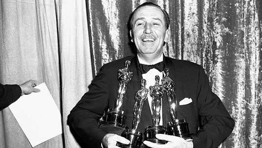 10 datos interesantes sobre Walt Disney - walt-disney-oscars