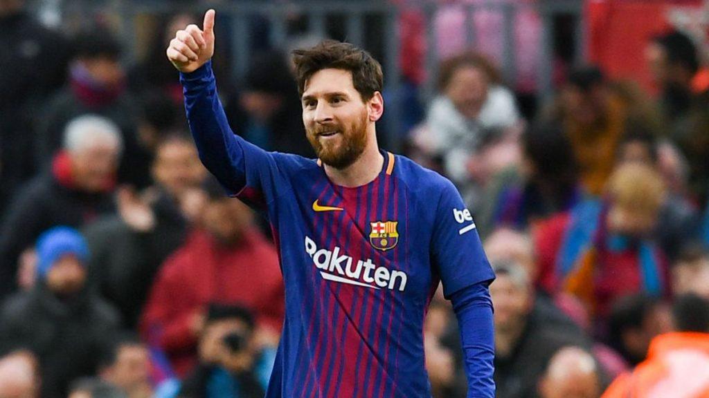 Top 10 de los deportistas mejor pagados en el 2018 - 9. Messi