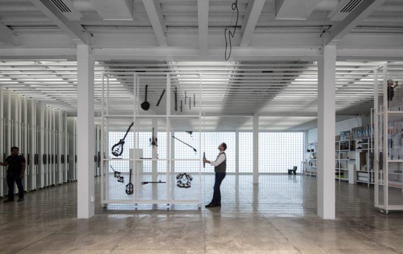 Instituto Alumnos, un espacio dedicado a la educación artística - arquitectura-interior-decoracion-disencc83o-perspectiva-cuarto