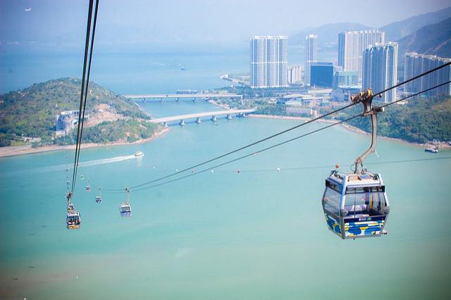 Guía para visitar Hong Kong - hong-kong-gondola