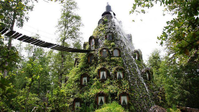 Los hoteles más extraños del mundo - hotelesraros_mountainlodge