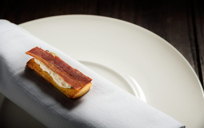 Luigi Taglienti y su cocina de la liguria - pan-tocino-comida-gourmet-chef