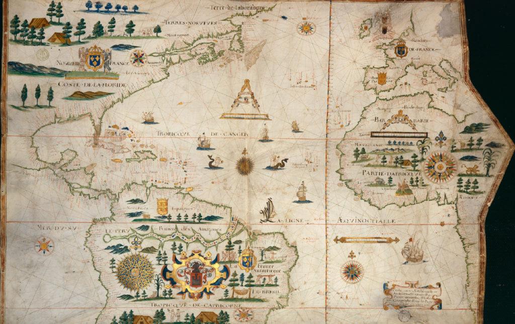 La Ira de Dios - portada mapa antiguo foto historia lugares