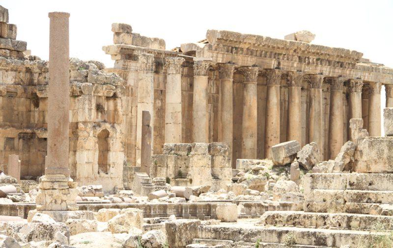 Beirut, el nuevo corazón del Mediterráneo - ruinas-tempo-arquitectura-beirut
