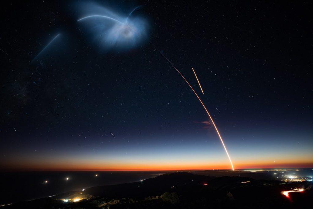 El cohete Falcon 9 de SpaceX aterrizó de forma exitosa en la costa de California - space x cohete falcon portada