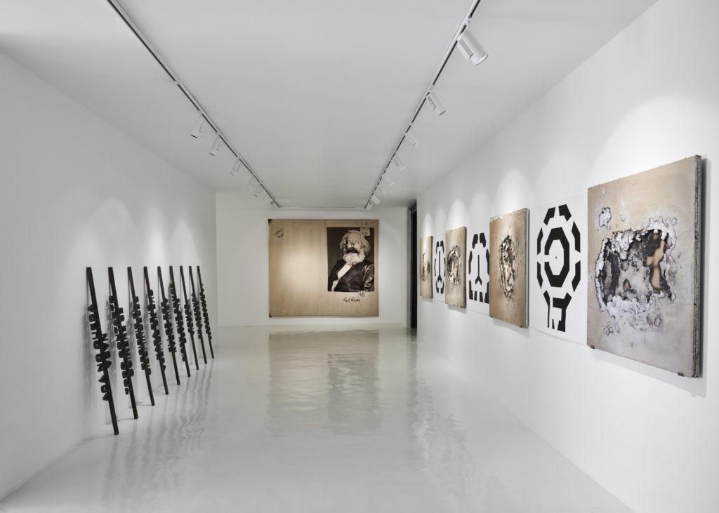 Teatro de operaciones - Teatro de operaciones, galería Hilario Galguera PORTADA