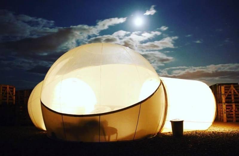 Bubble hotels que tienes que conocer - aire-de-bardenas-espancc83a