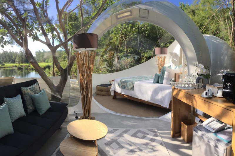 Bubble hotels que tienes que conocer - bubble-lodge-mauricio