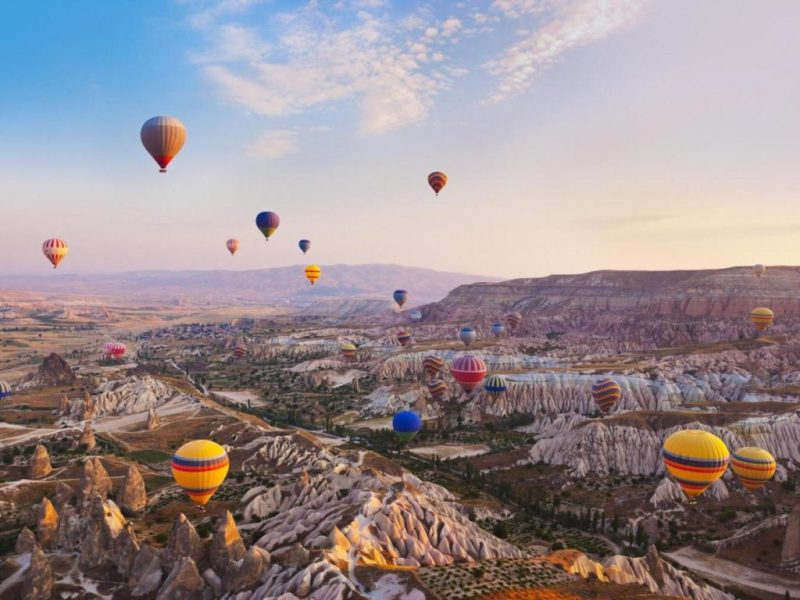 Los mejores destinos para vivir una aventura en un globo aerostático - viaje-globo-aerostatico-1
