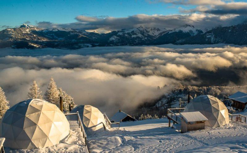 Bubble hotels que tienes que conocer - whitepod-hotel-suiza