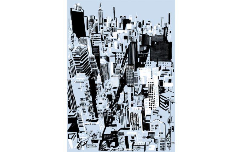 Christoph Niemann, excepcional ilustrador - ilustracion-ciudad-grises-arte