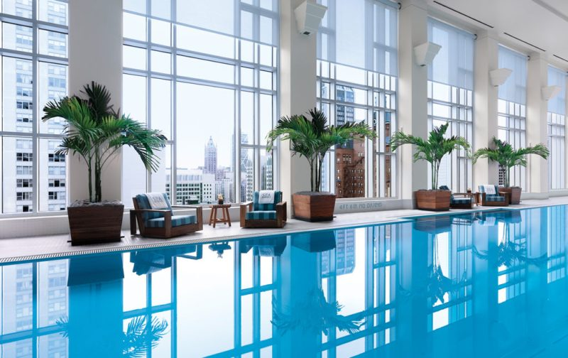 The Peninsula Chicago - pool-thepeninsula-hotel-view