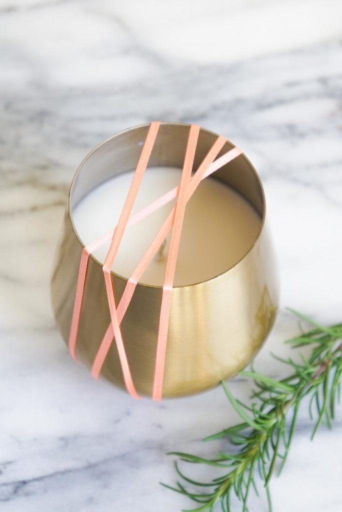 Regalos de Navidad que puedes hacer tú mismo - regalos-de-navidad-diy-velas-aromaticas