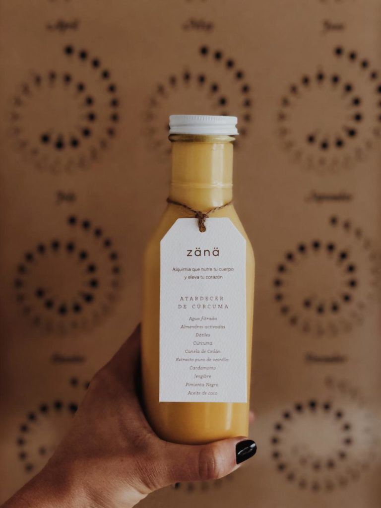 Las mejores golden milks de la CDMX - zana-alquimia-golden-milk