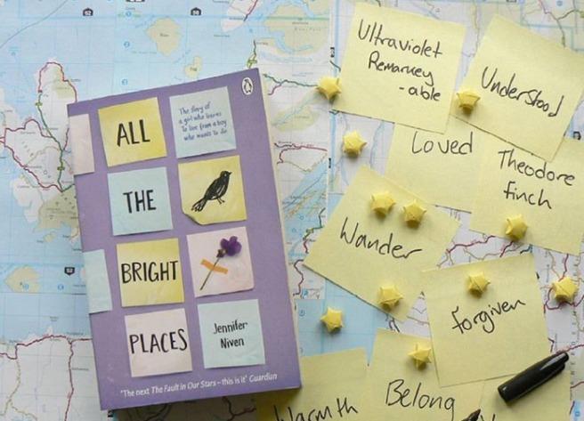 Libros que se harán película en el 2019 - all-the-bright-places