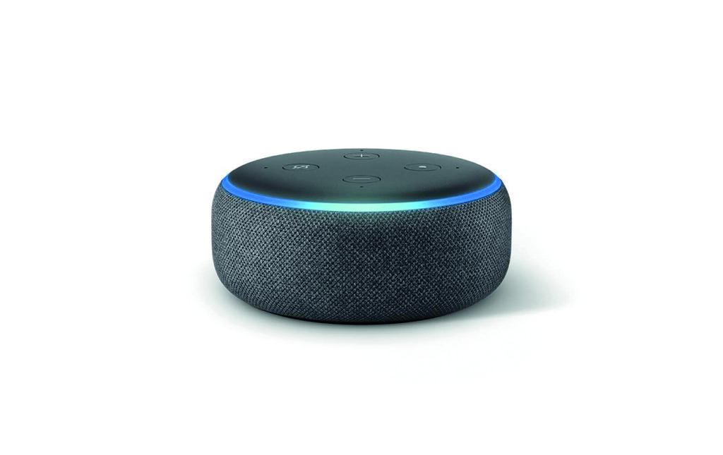 Tech wishlist: smart home gadgets - BOCINA INTELIGENTE AMAZON ECHO DOT (3RD GEN)