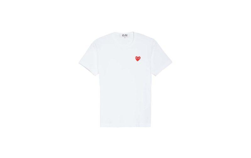Hot stuff: las piezas que no deben faltar en tu clóset - commendegarcons-white-tshirt