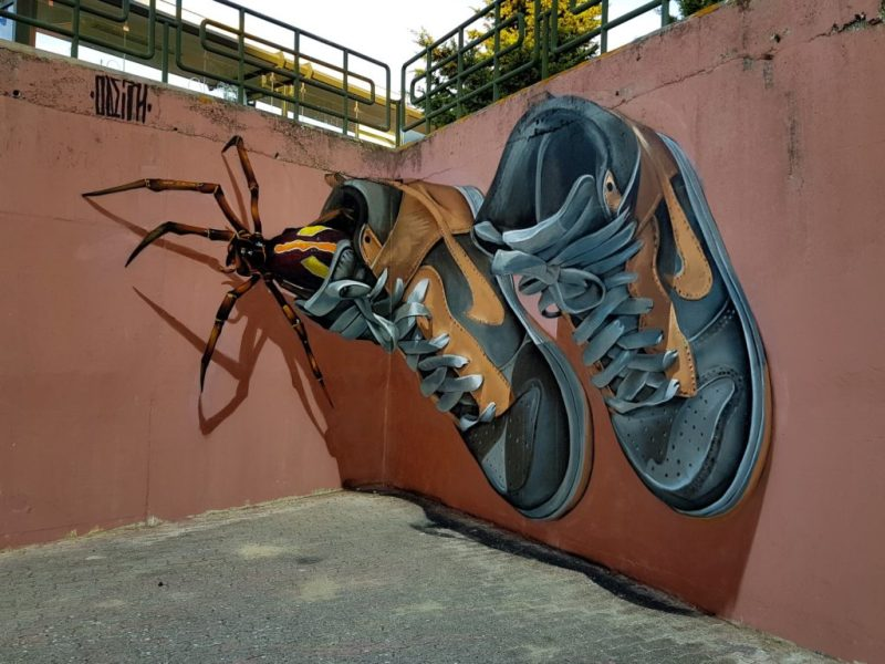 Los grafitis en 3D más impresionantes de Odeith - grafitis-3d-1