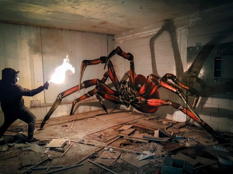 Los grafitis en 3D más impresionantes de Odeith - grafitis-impresionantes-3d-6