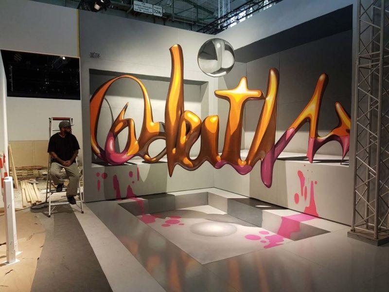 Los grafitis en 3D más impresionantes de Odeith - grafitis-impresionantes-3d-8