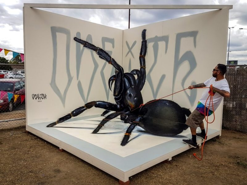 Los grafitis en 3D más impresionantes de Odeith - grafitis-impresionantes-5