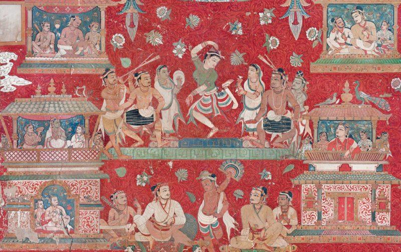 Thomas Laird y los murales del Tíbet - murals-of-tibet-history-painting