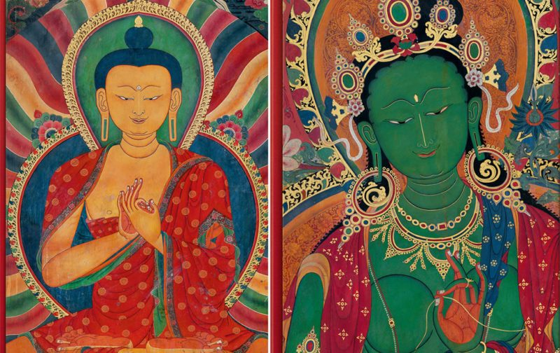 Thomas Laird y los murales del Tíbet - ohne-leseband-pintura